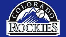 Baseball Colodado Rockies 3 X 5 Flag