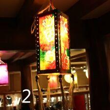 Floral Paper Light Shade Lampshade Bar Style Adorn Ethnic Retro Retro Handmade