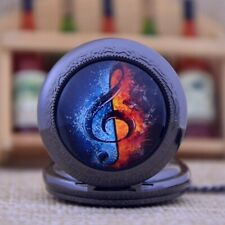"""Beautifully Crafted """"The Note"""" Treble Clef Pendant Watch! A Beautiful Gift Idea!"""