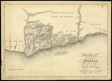 Rare Antique Map-GOLD COAST-GHANA-ASHANTI-ACRA-ELMINA-Bosch-Baarsel-1818