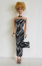 Vintage TNT Body Barbie Clothes DRESS PURSE & JEWELRY Fashion NO DOLL dolls4emma