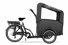 Electric Bakfiets ETroy Cargo Family Bike 7speed Shimano bakfeetz New blackblack