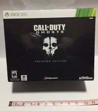 Call of Duty: Ghosts -- Prestige Edition (Microsoft Xbox 360, 2013) New Sealed