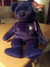 Ty Beanie Baby Princess The Diana 1997 Bear MINT Retired