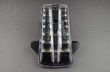 Feu arrière LED clair clignotants intégrés Suzuki SV SVS 650 2003 2004 2005