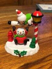 New Solar Powered Dancing Toy Bobble Head - Swinging Snowman