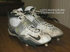 Packers Keith McKenzie Game Used Nike Turf Shoes Auito.