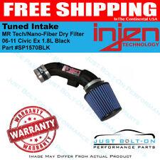 Injen Fits 06-11 Civic Ex 1.8L Black Tuned Intake MR Tech/Nano-Fiber Dry Filter