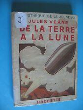 017 - Jules Verne - De la terre a la lune - Bibliothèque de la jeunesse