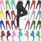 NUEVO de mujer talla grande color Ajustado Elástico Vaqueros Jeggings 8-26