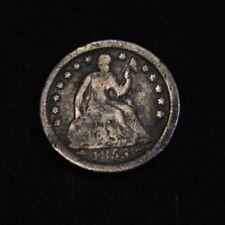 1853-O Half Dime seated Liberty