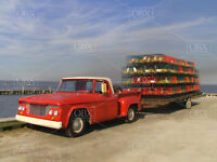 """Going Crabbing"" an 8x10 Photo: Of a 1961 Dodge 100 Pickup, OBX Currituck NC.!"