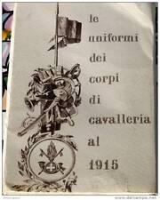 FOLDER 30 CARTOLINE CARICATURA UNIFORMI STORICHE CAVALLERIA