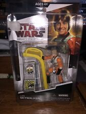 Star Wars Legacy Collection Luke Skywalker  2009 Comic Con SDCC mint