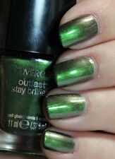 CoverGirl Outlast Stay Brilliant Nail Gloss Polish EMERALD BLAZE Green Metallic