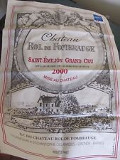 New Chateau Rol De Fombrauge Vineyard Souvenir Towel, Made in France