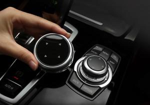 for BMW F10 F20 F30 IDrive Car Multimedia Big Knob Cover Button Trim Control New