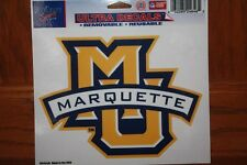 WinCraft Sports Marquette University Ultra Decal Removable NEW