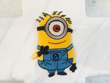 Yellow Kimono Kids Children Cation Character Embroidered Iron On Patches Patch