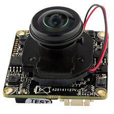 HD IP Camera Module 1080P 2MP CCTV PCB Board 180 Degree Wide Angle Fish Eye Lens