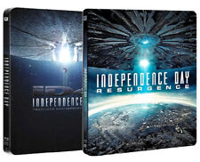 INDEPENDENCE DAY + INDEPENDENCE DAY RESURGENCE - STEELBOOK EDITION (3 BLU-RAY)