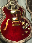 2015 Epiphone Sheraton II PRO Wine Red Archtop Electric Guitar & Orig Hard Case