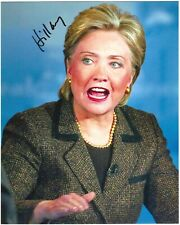 Hillary Clinton Signed Photo / IN PERSON