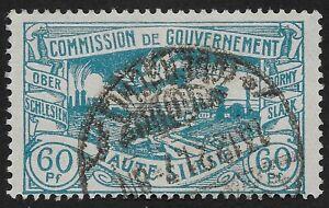 1920 UPPER SILESIA 60 Pfg. Stamp GERMANY Silesian Landscape  (LBX)