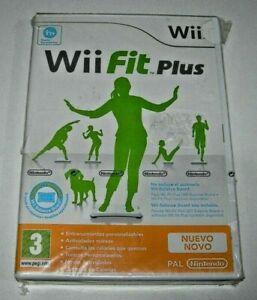 Wii Fit Plus Nintendo Wii (PAL España precintado)