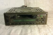 Kenwood KRC 107S Cassette Player In Dash Receiver