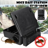 Rat Mice Mouse Rodent Poison Boxes Pest Control Bait Station Box Trap Key Home