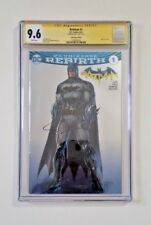 Batman Rebirth #1 SDCC Foil Variant CGC 9.6 Signed by Jim Lee