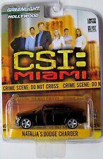 GREENLIGHT HOLLYWOOD SERIES 1 CSI: MIAMI NATALIA'S DODGE CHARGER