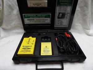GreenLee 2007 Power Finder Circuit Tracer