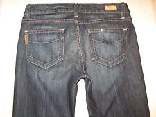 Paige Premium Jeans Laurel Canyon Low Rise Bootcut Dark Sz 28  NEW w tags $189