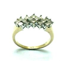 Ladies/womens 9ct gold stunning looking ring set with 1ct of diamonds, UK size R