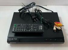 Sony Dvp-Sr210P Dvd Player with Remote Progressive Scan & Media Playback Tested