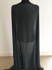 Printed Mini Tile /Geometric Print on Woven Silky Satin Dressmaking Fabric