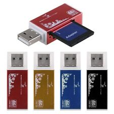 USB Compact Flash Memory Stick Card Reader Adapter for Micro SD MMC SDHC