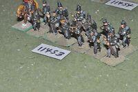25mm napoleonic / british - infantry 13 figs - inf (11453)