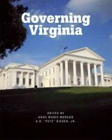 Governing Virginia, Paperback by Morgan, Anne M.; Giesen, A. R., Brand New, F...