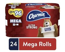 Charmin Ultra Strong Toilet Paper Mega Rolls - 24ct