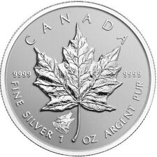 Wolf Privy 2016 $5 Canadian Maple Silver Leaf Silver Coin
