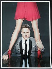OLLY MURS Signed 16x12 Photo TROUBLEMAKER & X FACTOR COA