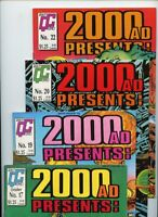 2000 AD Presents #17, #19, #20, and #22 Quality Comics Lot of 4 Books