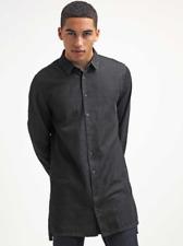 YourTurn Black Denim Long Shirt Large TD002 GG 04