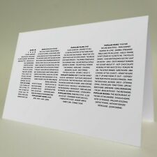 40th BIRTHDAY CARD/RUBY 40th ANNIVERSARY 2020 BORN IN 1980 FACTS CAN PERSONALISE