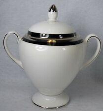 "WEDGWOOD china REFLECTION 50114 pattern Sugar Bowl & Lid - 4"""