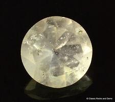 Libyan Desert Glass AAA Faceted Gem Cut Meteorite Impactite 1.10 ct 7.0 mm