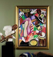 """African American Black Art Giclee' """"JAZZ & FRIENDS"""" by Kelvin Henderson"""